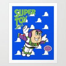 Super Toy Bros. Art Print