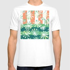 Fan Palm - Rincon Mens Fitted Tee SMALL White