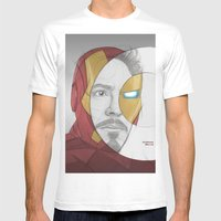 circlefaces Mens Fitted Tee White SMALL