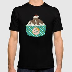 ICE CREAM Black SMALL Mens Fitted Tee