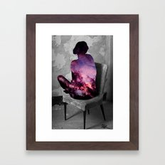 Universe Inside Framed Art Print