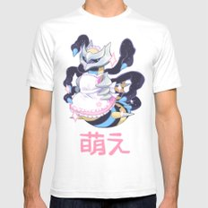 moe giratina Mens Fitted Tee White SMALL