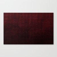 Harlequin - Textured Pat… Canvas Print