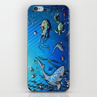 Unda Da Sea iPhone & iPod Skin