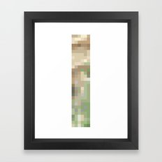 ABSTRACT PIXELS #0005 Framed Art Print