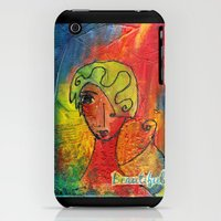 iPhone 3Gs & iPhone 3G Cases featuring Beautiful by Pearangel Art Studio