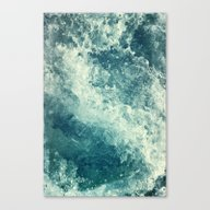 Canvas Print featuring Water I by Dr. Lukas Brezak
