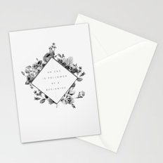 The End Is The Beginning Stationery Cards