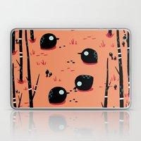 Black Birds in the Forest Laptop & iPad Skin