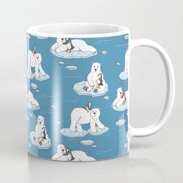 Mug - Polar Bear Loves Penguin - micklyn
