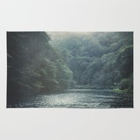 valley and river Rug