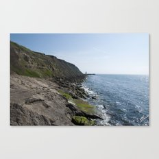 English Coast Canvas Print
