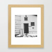 #welcome Framed Art Print