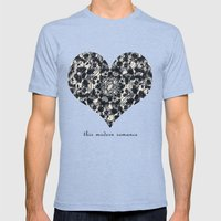 This Modern Romance Mens Fitted Tee Tri-Blue SMALL
