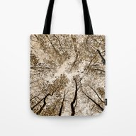 Sepia Fall Tote Bag