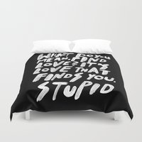 GO FIND LOVE Duvet Cover