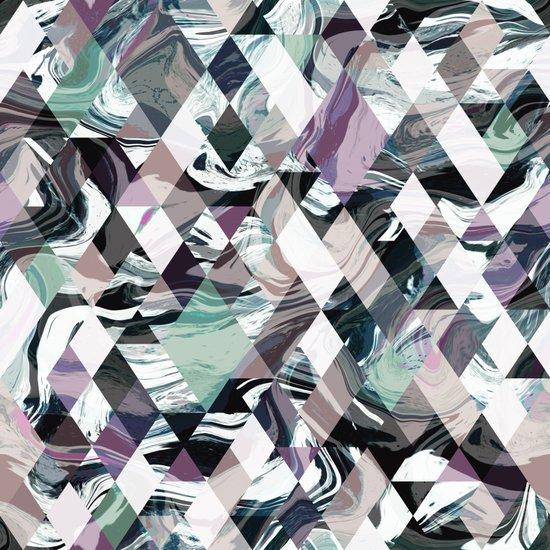 Diamond Rock Art Print