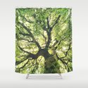 Under Your Skin Shower Curtain