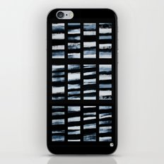 Faded Lines iPhone & iPod Skin