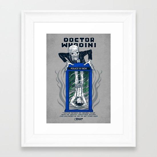Doctor Whodini Framed Art Print