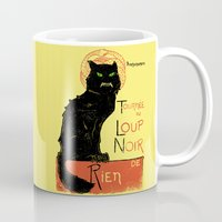 Loup Noir Mug