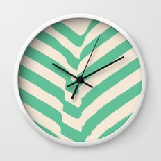 PARK PLANTS 002 — Matthew Korbel-Bowers Wall Clock