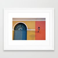 Light Shadow Framed Art Print