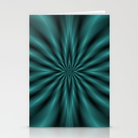Green Radiation Stationery Cards