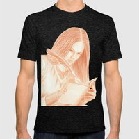 Dear Diary Mens Fitted Tee Tri-Black SMALL