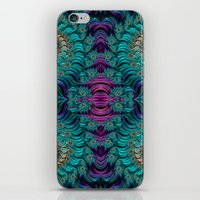 Aqua Swirl 2 iPhone & iPod Skin