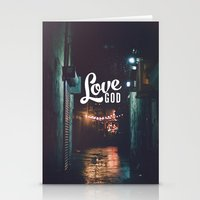 Love God Stationery Cards