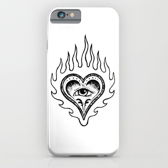 Sacred Heart iPhone & iPod Case