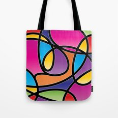 Loops Color 2 Tote Bag