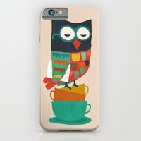 iPhone & iPod Case featuring Morning Owl by Budi Kwan