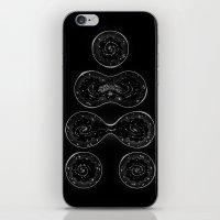 Infinite Expanding (Black) iPhone & iPod Skin
