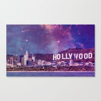 Hipsterland - Los Angeles Canvas Print