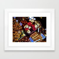 Sweet Tooth Framed Art Print