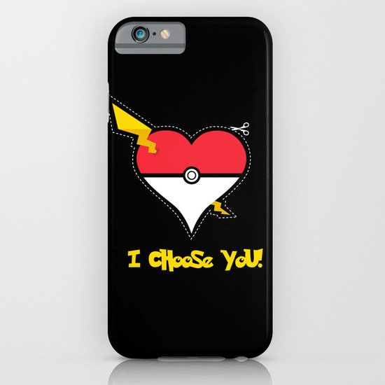 Valentine, I Choose You! iPhone & iPod Case