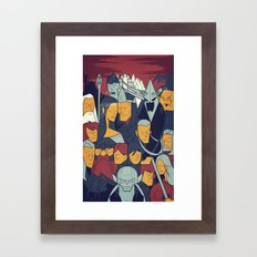 The Return Of The King Framed Art Print
