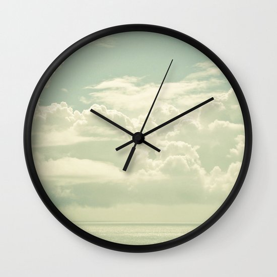 As the Clouds Gathered Wall Clock