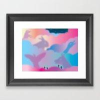 Aurora Borealis Explained Framed Art Print
