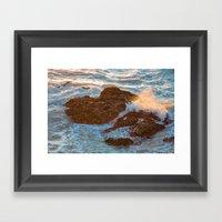 Pacifica Coast Framed Art Print