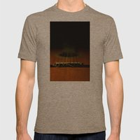 guitar ii Mens Fitted Tee Tri-Coffee SMALL