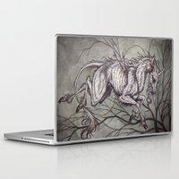 unicorn Laptop & iPad Skins featuring Unicorn by Caitlin Hackett