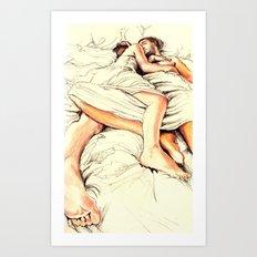 Origin of Love #5  Art Print