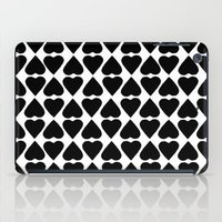 Diamond Hearts Repeat Bl… iPad Case