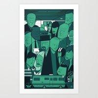 Breaking Bad (green Vers… Art Print
