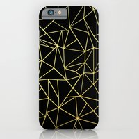 Abstraction Outline Gold… iPhone 6 Slim Case