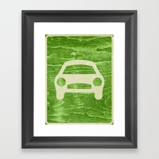 Road Hog Framed Art Print