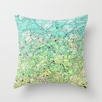 Between The Earth And Sk… Throw Pillow